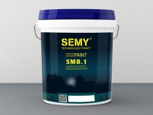 Sơn nội thất kinh tế Semy SM8.1