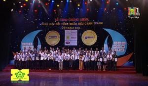Sơn Semy – Top 100 Nhãn hiệu nổi tiếng – Nhãn hiệu cạnh tranh Việt Nam 2016